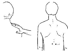 Точечный массаж при бронхиальной астме