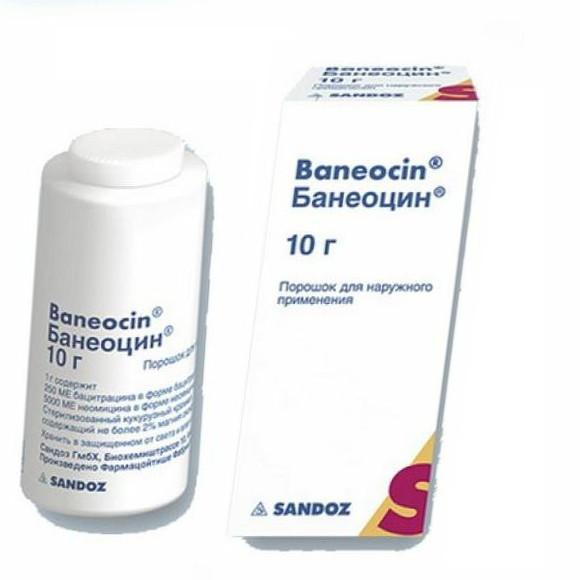 банеоцин инструкция по применению порошок