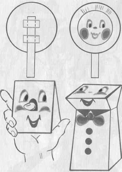 Куклы для пальчикового театра.